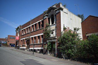 Jewellry Quarter Birmingham, site of an Historic Building Recording Survey